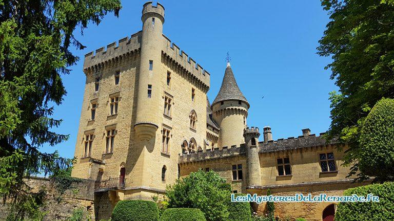 Le Château de Puymartin : demeure de la Dame Blanche du Périgord
