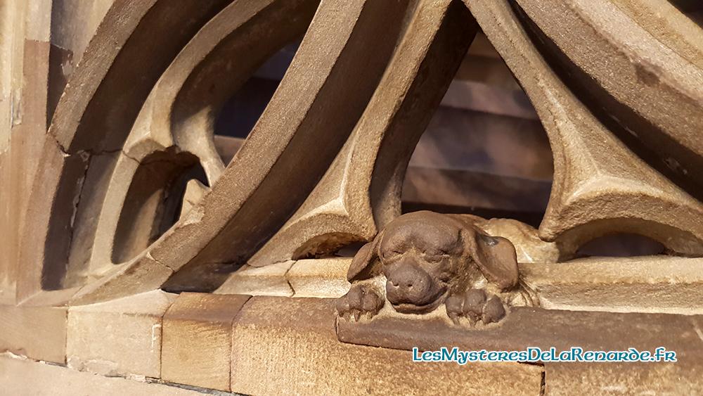 Les Légendes de la Cathédrale de Strasbourg : le Diable, le Chien, le Lac Souterrain, la Dame Blanche, les Fantômes et autres Histoires