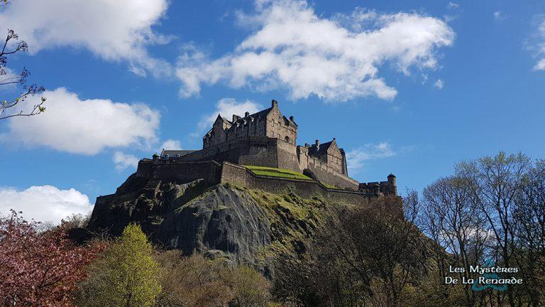Le Château d'Edimbourg : Les Fantômes de la forteresse Ecossaise