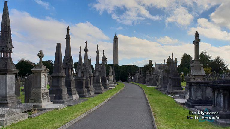 Le Cimetière Glasnevin de Dublin : Histoires de Fantômes