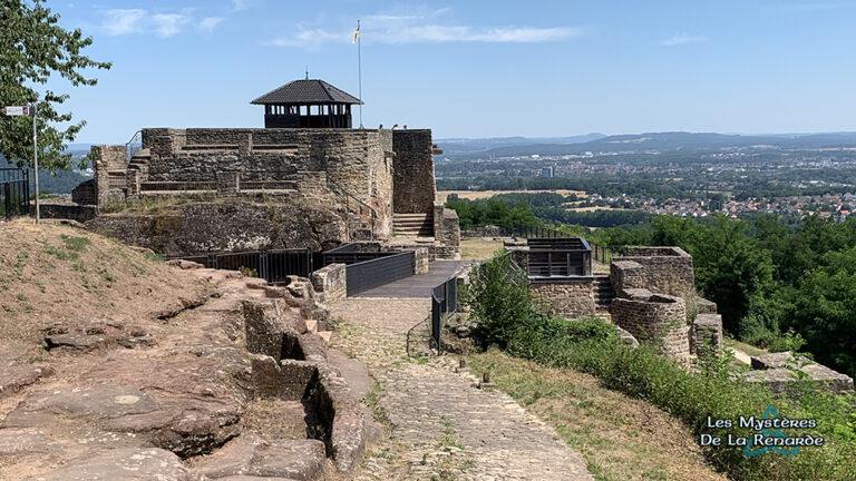 Le Château du Diable de Felsberg